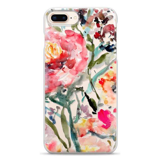 iPhone 8 Plus Cases - Pink Peony