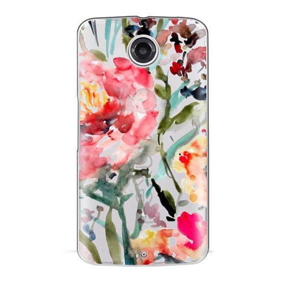 Nexus 6 Cases - Pink Peony