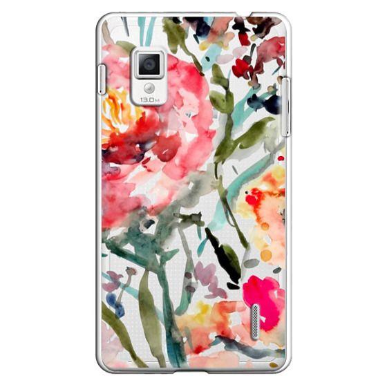 Optimus G Cases - Pink Peony