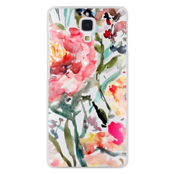 Xiaomi 4 Cases - Pink Peony