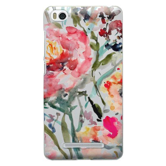 Xiaomi 4i Cases - Pink Peony