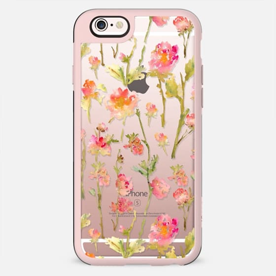 Pale Roses Clear - เคส Classic Grip