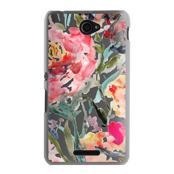 Sony E4 Cases - Pink Peony