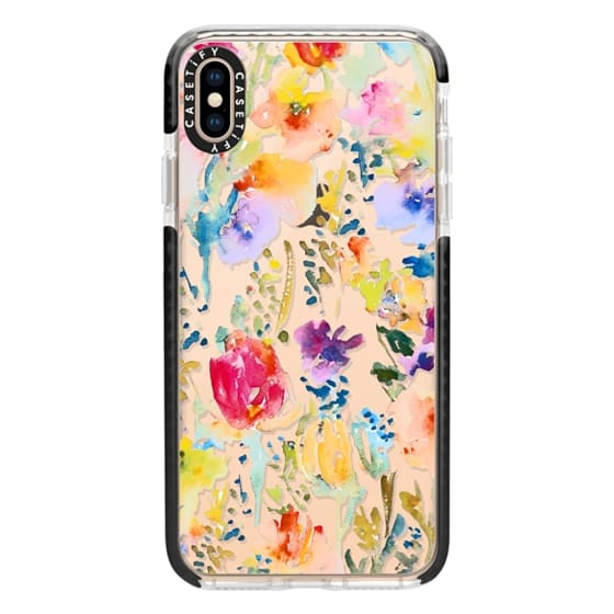 iPhone XS Max Cases - Clear From the Garden