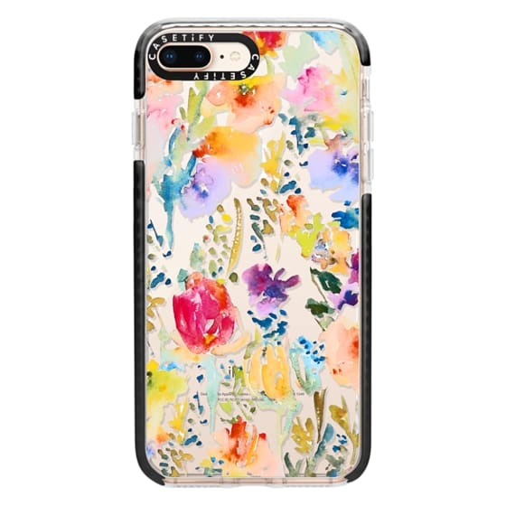 iPhone 8 Plus Cases - Clear From the Garden