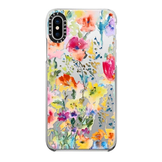 iPhone X Cases - My Garden