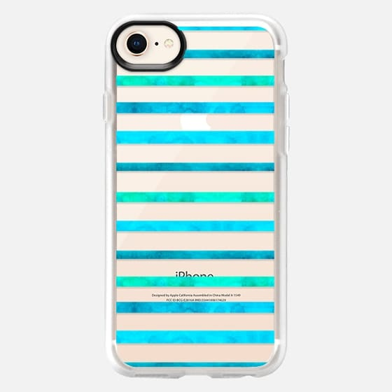 Surf Stripes - Snap Case