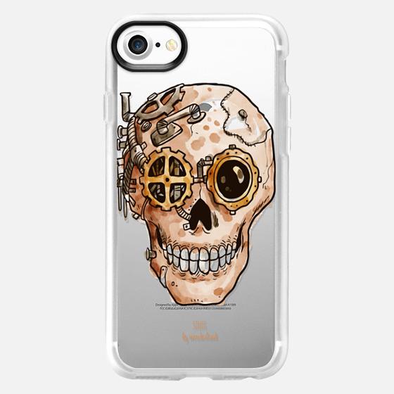 Steampunk Skull iPhone Case - Wallet Case
