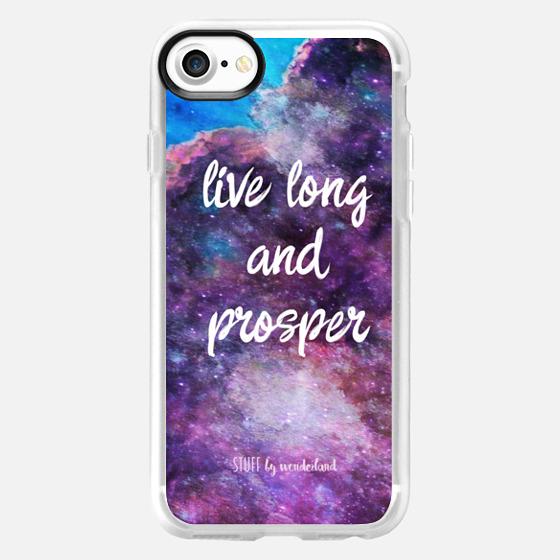Star Trek -Live Long and Prosper- iPhone Case -