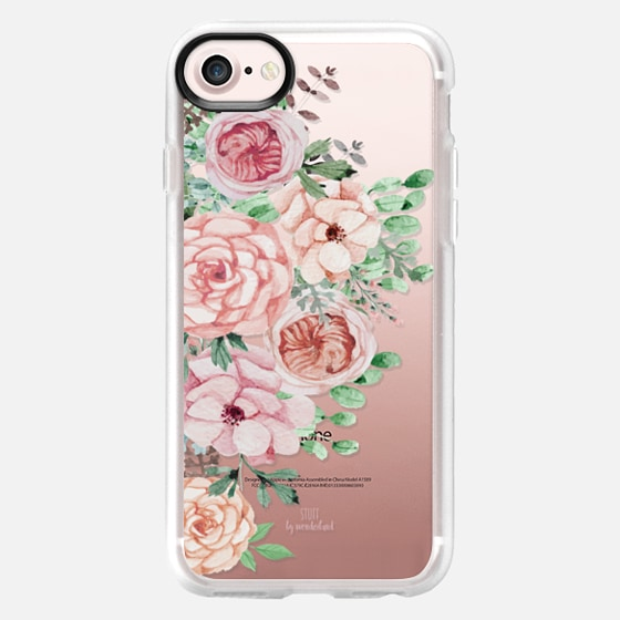 Pastel Pink Flowers iPhone Case - Wallet Case