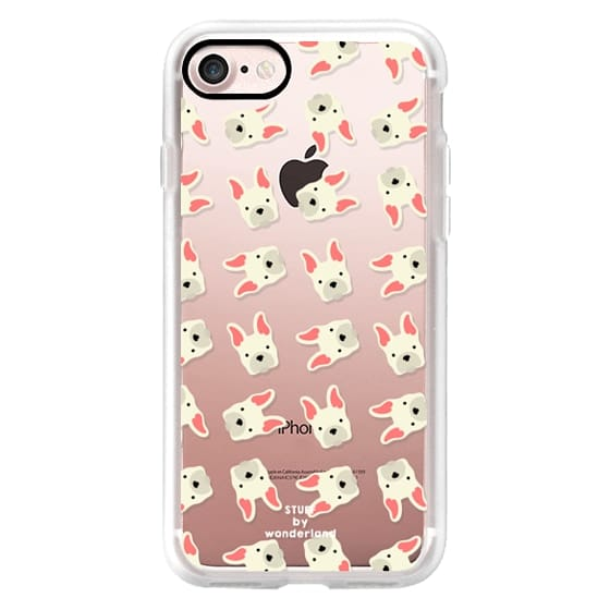 French Bulldog Transparent iPhone Case