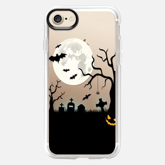 Halloween Silhouette iPhone Case -