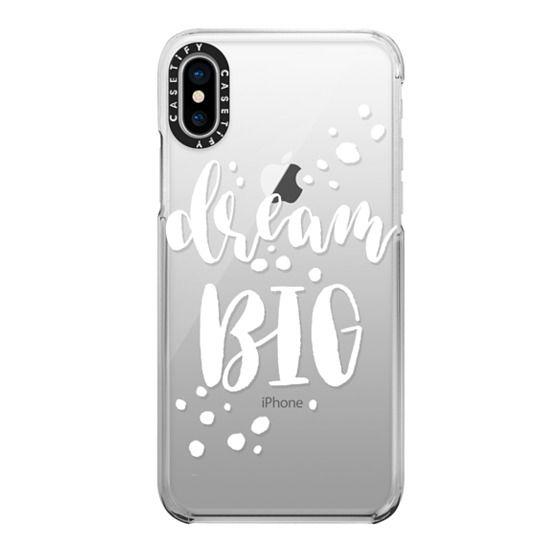 iPhone X Cases - Dream Big