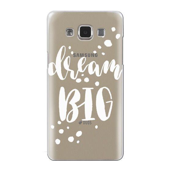 Samsung Galaxy A5 Cases - Dream Big