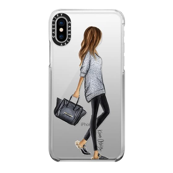 iPhone X Cases - Furry Slippers by Kara Ashley