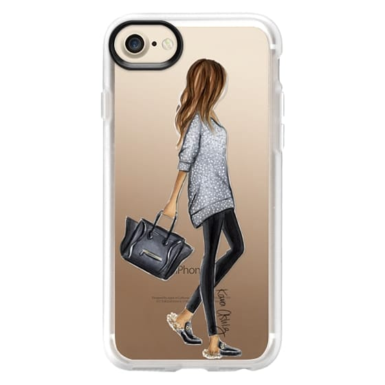 iPhone 7 Cases - Furry Slippers by Kara Ashley