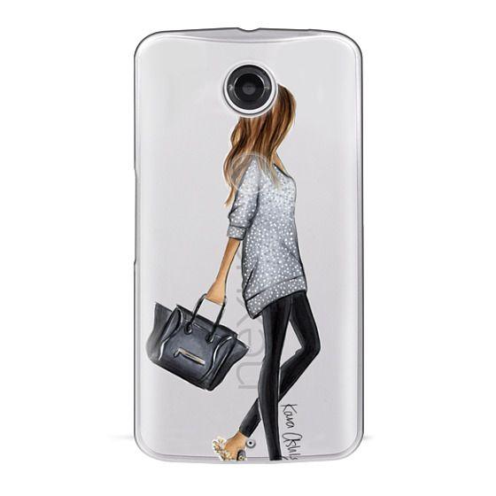 Nexus 6 Cases - Furry Slippers by Kara Ashley