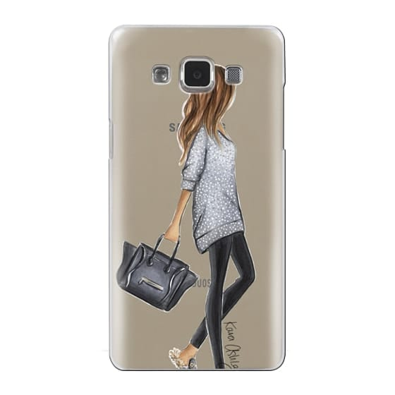 Samsung Galaxy A5 Cases - Furry Slippers by Kara Ashley