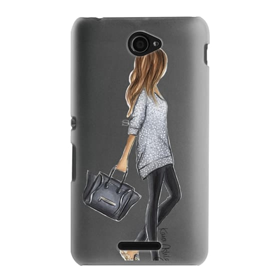 Sony E4 Cases - Furry Slippers by Kara Ashley