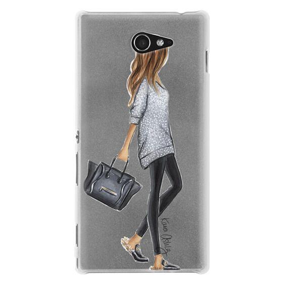 Sony M2 Cases - Furry Slippers by Kara Ashley