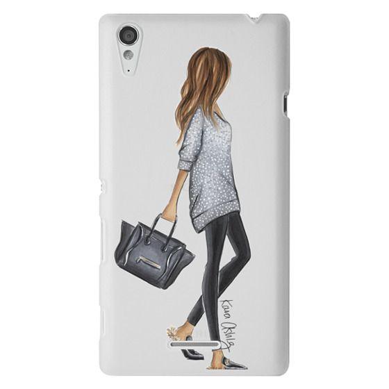 Sony T3 Cases - Furry Slippers by Kara Ashley