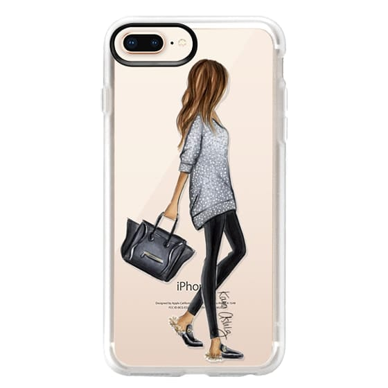 iPhone 8 Plus Cases - Furry Slippers by Kara Ashley