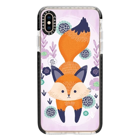 iPhone XS Max Cases - Foxy Florals