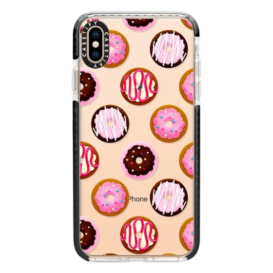 iPhone XS Max Cases - Go Nuts for Donuts