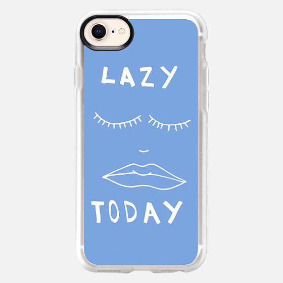 Lazy Today  - Snap Case