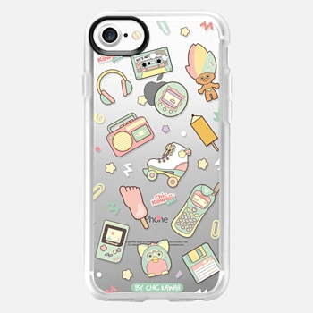 iPhone 7 Case Nostalgia By Chic Kawaii