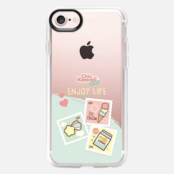 Sweet Stamp By Chic Kawaii - Wallet Case