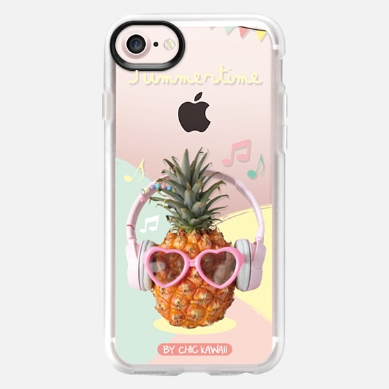 Pineapple summer By Chic Kawaii - Wallet Case