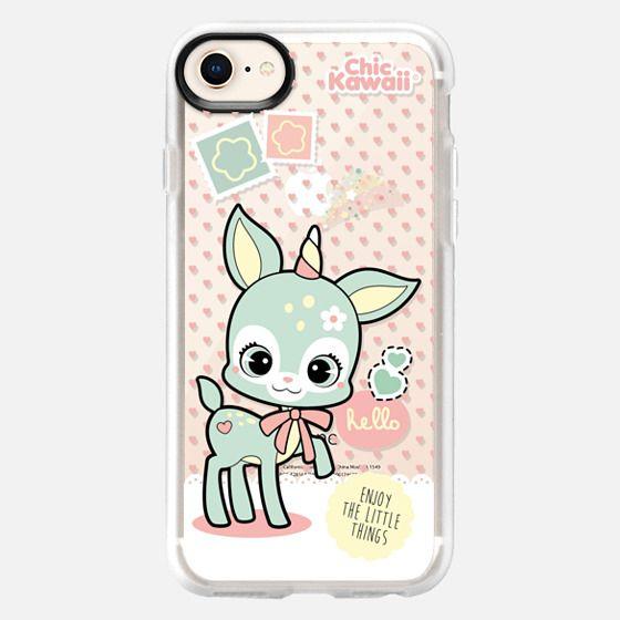 Magical Deer By Chic Kawaii - Snap Case