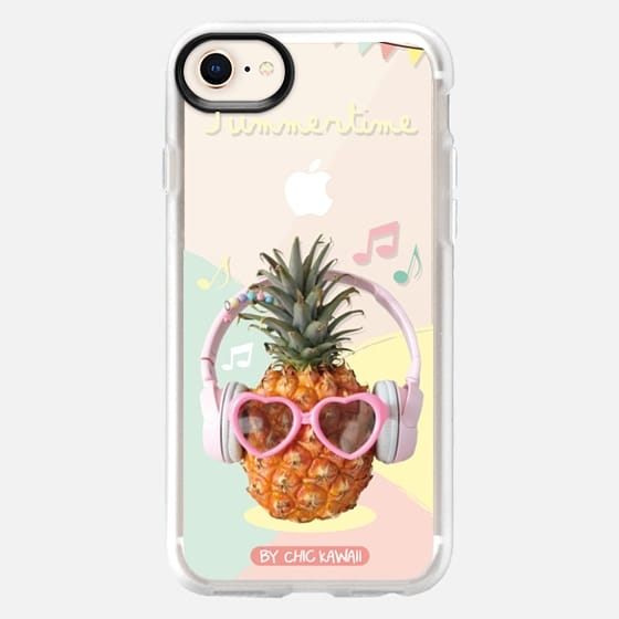 Pineapple summer By Chic Kawaii - Snap Case