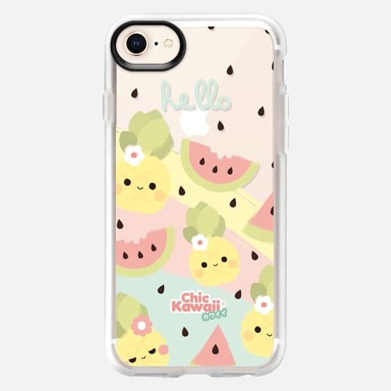 Hello Summer Blue By Chic Kawaii - Snap Case