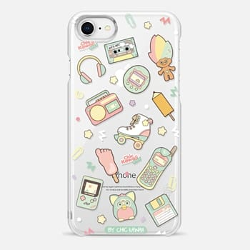 iPhone 8 Case Nostalgia By Chic Kawaii