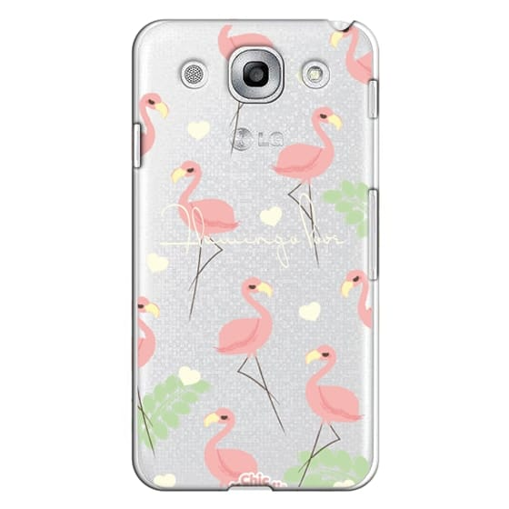 Flamingo Love By Chic Kawaii