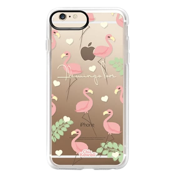 iPhone 6 Plus Cases - Flamingo Love By Chic Kawaii