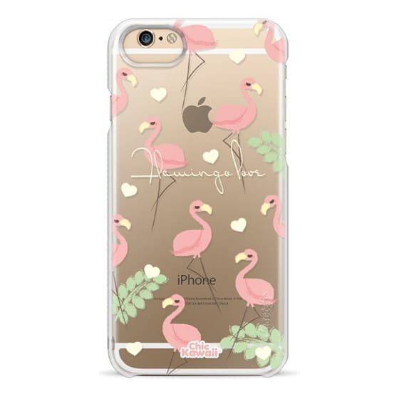 iPhone 6 Cases - Flamingo Love By Chic Kawaii
