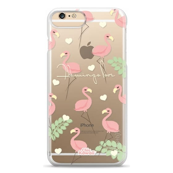 iPhone 6s Plus Cases - Flamingo Love By Chic Kawaii