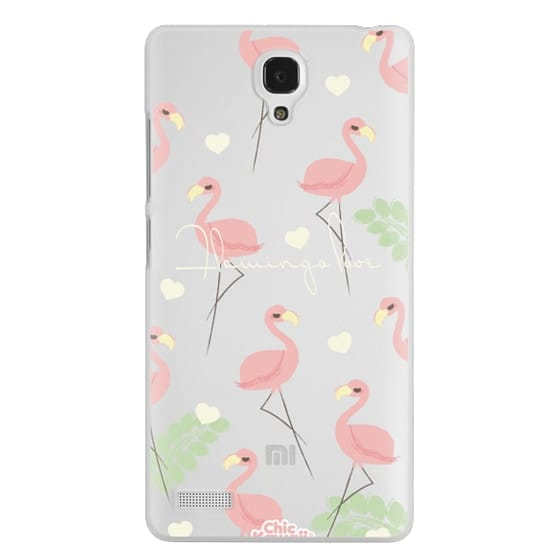 Redmi Note Cases - Flamingo Love By Chic Kawaii