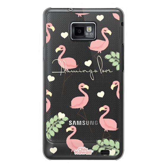 Samsung Galaxy S2 Cases - Flamingo Love By Chic Kawaii