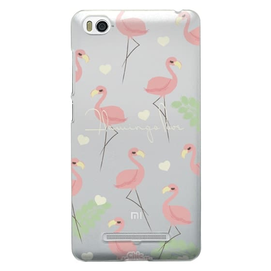 Xiaomi 4i Cases - Flamingo Love By Chic Kawaii