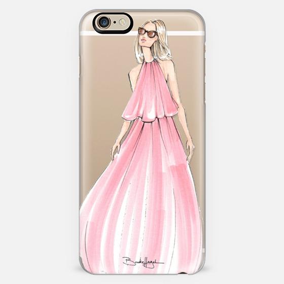 Charlotte-Fashion Illustration-Brooklit  - Classic Snap Case