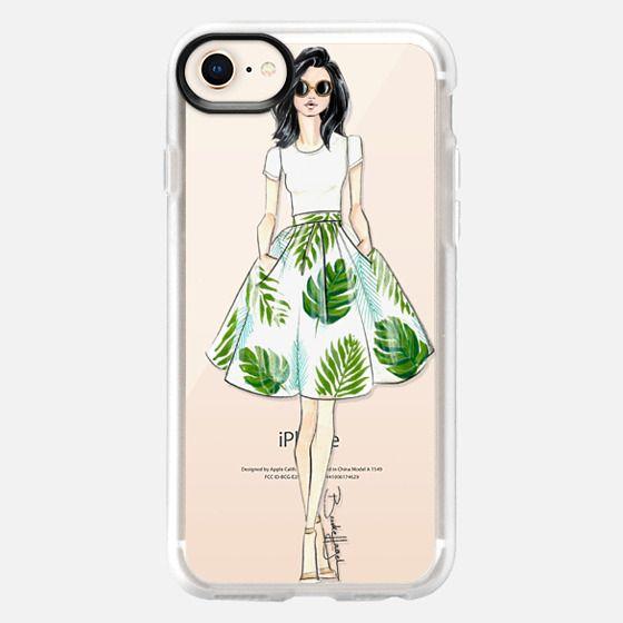 Bethany-Fashion Illustration-Brooklit  - Snap Case