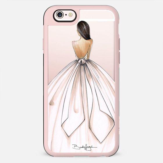 Gwen-Brunette Bride-Brooklit-Fashion Illustration - New Standard Case