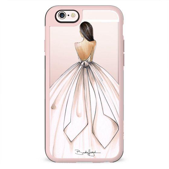 Gwen-Brunette Bride-Brooklit-Fashion Illustration