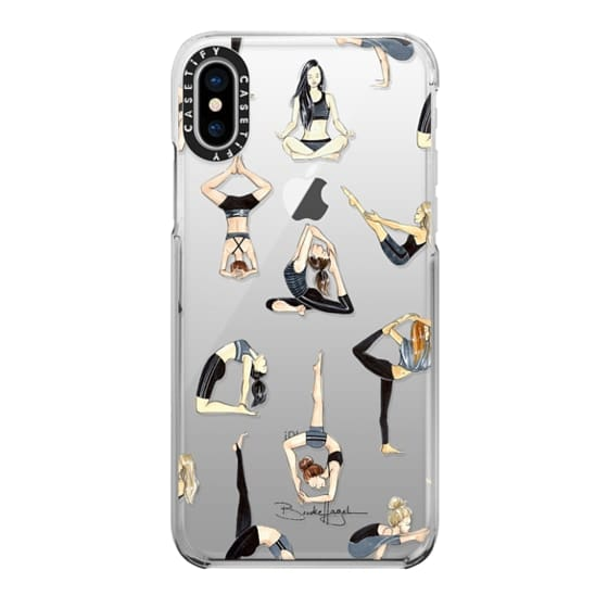iPhone X Cases - Yoga Girls