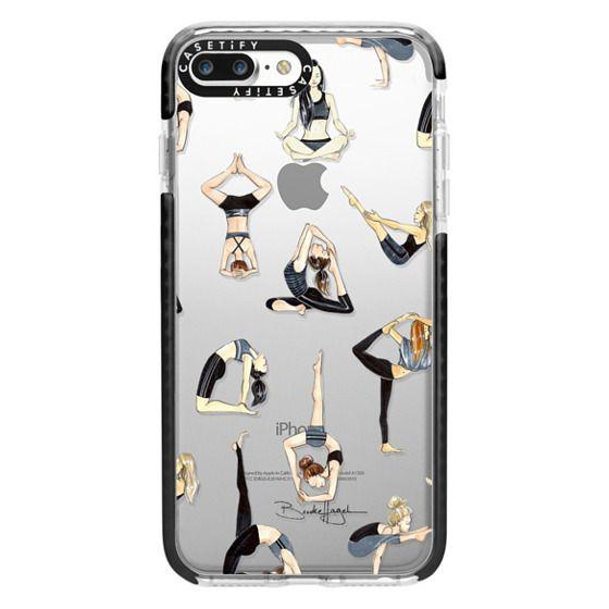 iPhone 7 Plus Cases - Yoga Girls