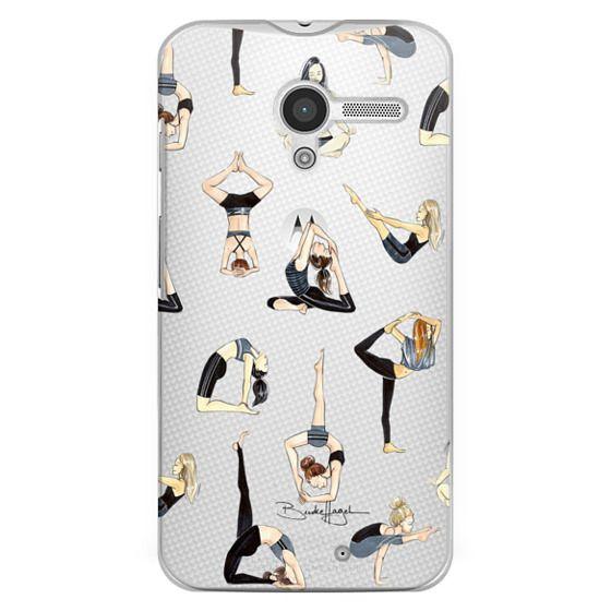 Moto X Cases - Yoga Girls